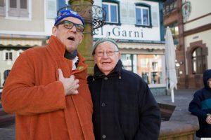 Helmut Dold mit Walter Schmieder