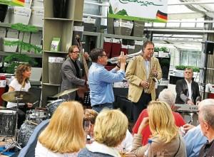 Jazz im Grünen 2015 - Iris Oettinger und Band